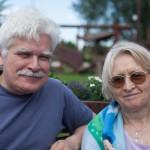 Bogdan z żoną. 10 i pół roku po usłyszeniu diagnozy (2010-06-23)