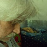 Bogdan pod koniec choroby. 12 i pół roku po diagnozie. Nieco ponad półtora roku po śmierci żony (2012-07-01)