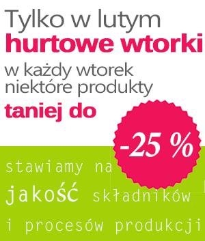 Super promocja w każdy wtorek lutego na www.superzdrowe.pl